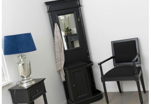 meuble vestiaire d 39 entr e noir bruges amadeus amadeus 19605. Black Bedroom Furniture Sets. Home Design Ideas