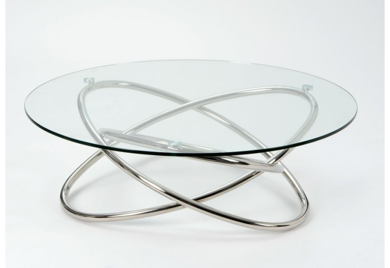 Table basse verre metal design - Table moderne en verre ...