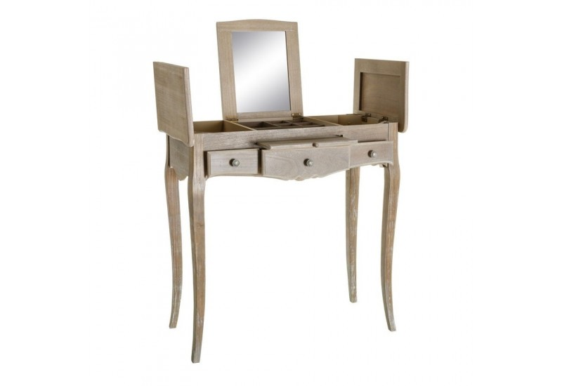 coiffeuse console romantique c rus naturel am lie 80 x 38. Black Bedroom Furniture Sets. Home Design Ideas
