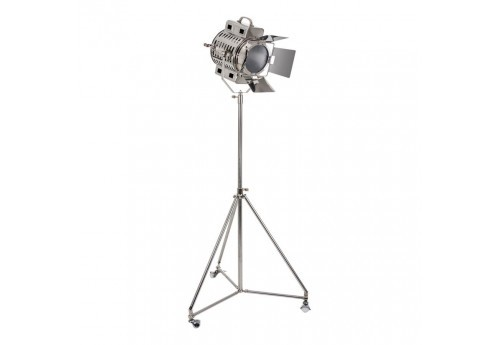 Lampadaire tr pied chrome cin ma vical home vical home 20533 - Lampadaire trepied cinema ...