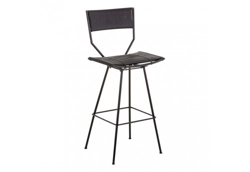 Tabouret de bar exotique marron Vical Home
