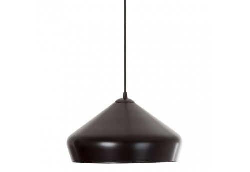 Suspension ronde Colgar noir et or Vical Home