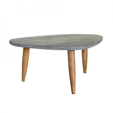 Pin table basse effet b ton on pinterest for Table basse effet beton
