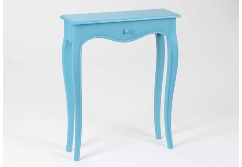 console 60 cm galb turquoise merveille amadeus 21095. Black Bedroom Furniture Sets. Home Design Ideas