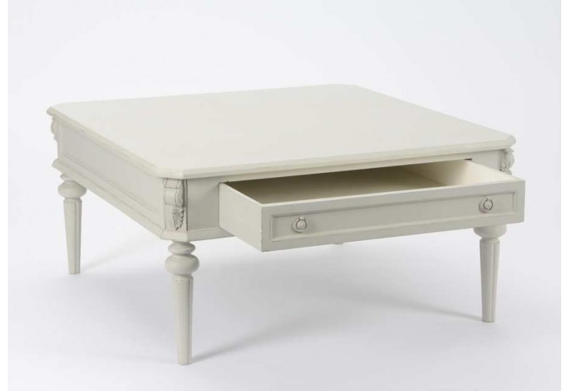 Table Basse Gris Perle