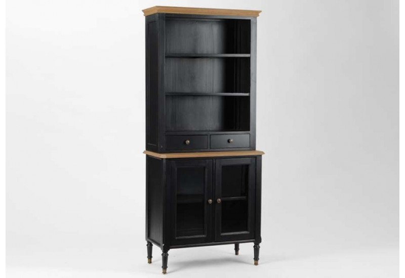vaisselier classique chic noir du plessis amadeus 21782. Black Bedroom Furniture Sets. Home Design Ideas