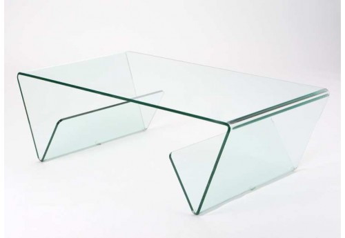Table basse design moderne en Verre
