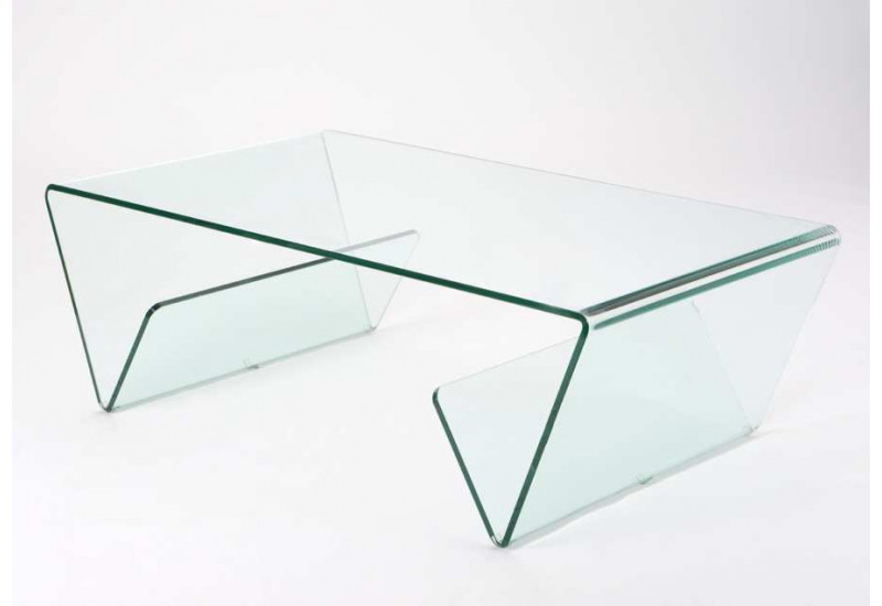 Table basse moderne en verre - Tables basses en verre ...