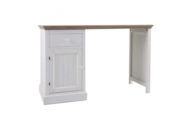 bureau en bois blanc bureau en bois blanc l 150 cm. Black Bedroom Furniture Sets. Home Design Ideas