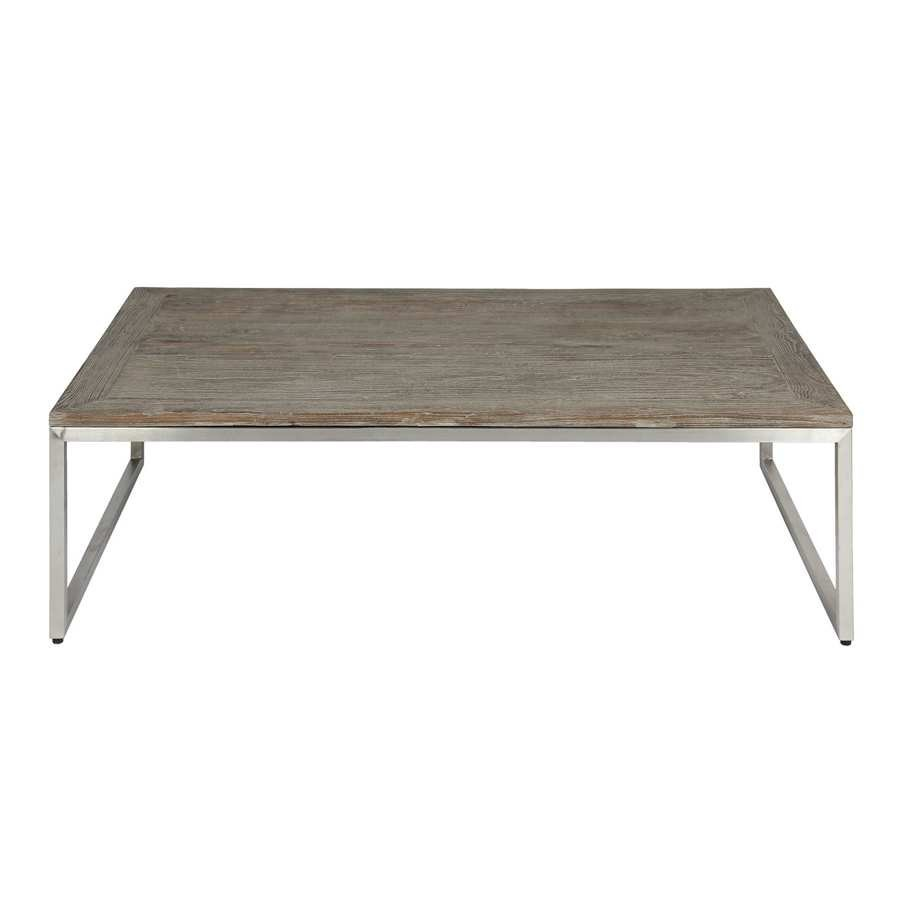 Salon blanc cosy - Table basse pour salon ...