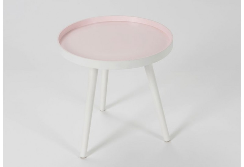 Table d 39 appoint tr pieds scandinave rose amadeus 25848 - Table d appoint scandinave ...