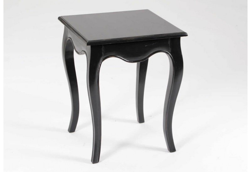 bout de canap ou table d 39 appoint galb noir merveille amadeus 26143. Black Bedroom Furniture Sets. Home Design Ideas
