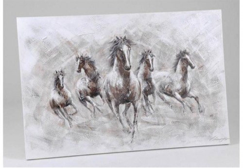 Toile Chevaux Sauvages  AMADEUS
