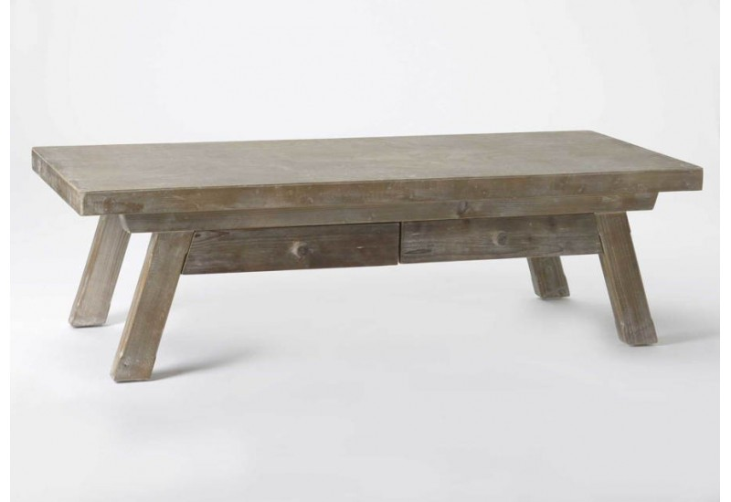 Table basse en bois naturel - Table basse en bois naturel ...
