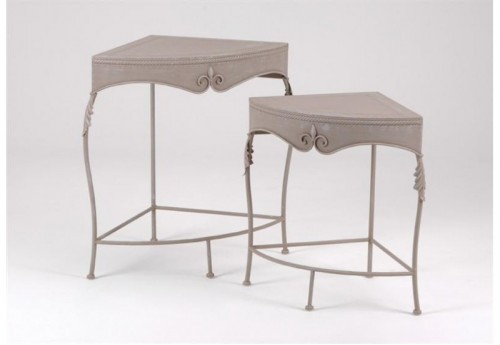 Set de 2 Tables D'Angle Lys AMADEUS