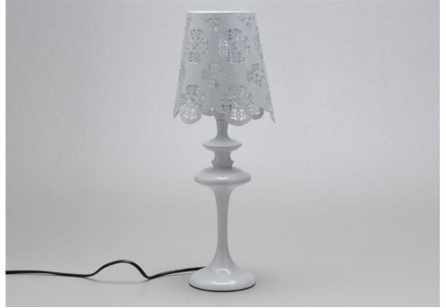 Lampe Lily Blanche 40W  AMADEUS