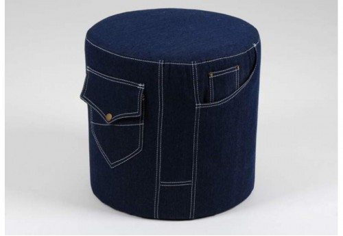 Pouf Denim AMADEUS
