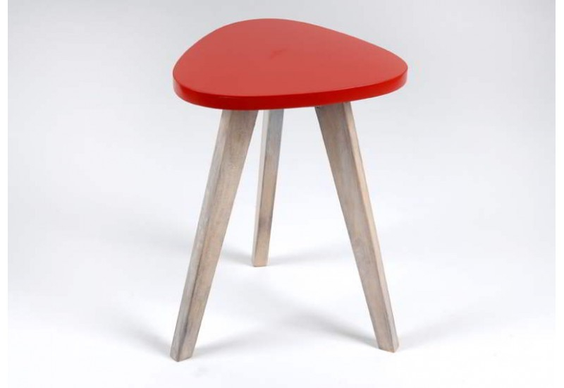 Table D'Appoint Rouge Wacko