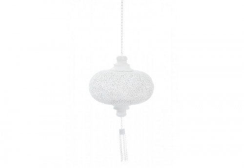 Suspension Métal Blanc 34,5X34,5X36Cm J-line