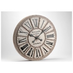 Horloge Ronde Paris Hubert