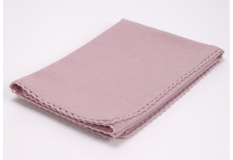 Serviette Capucine Rose