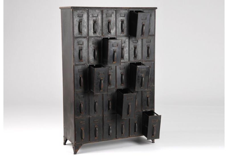 meuble casiers metal amadeus amadeus 2673. Black Bedroom Furniture Sets. Home Design Ideas
