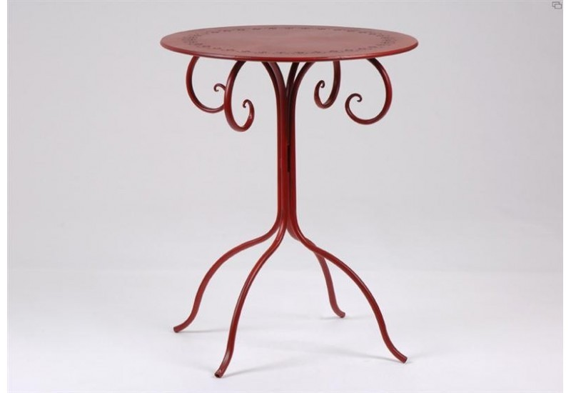 Table De Jardin Rouge Estamine