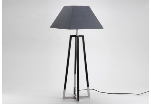 Lampe A Poser Moderne Grise  AMADEUS