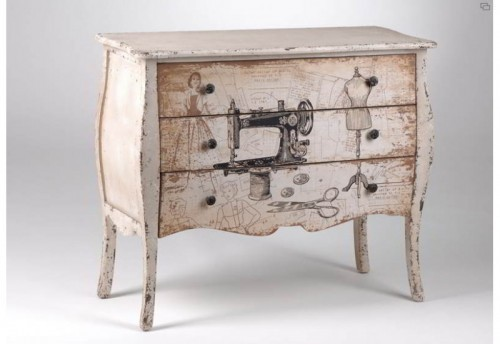 Commode  Couture Amadeus