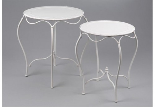 Set de 2 Tables Ingrid Ca AMADEUS