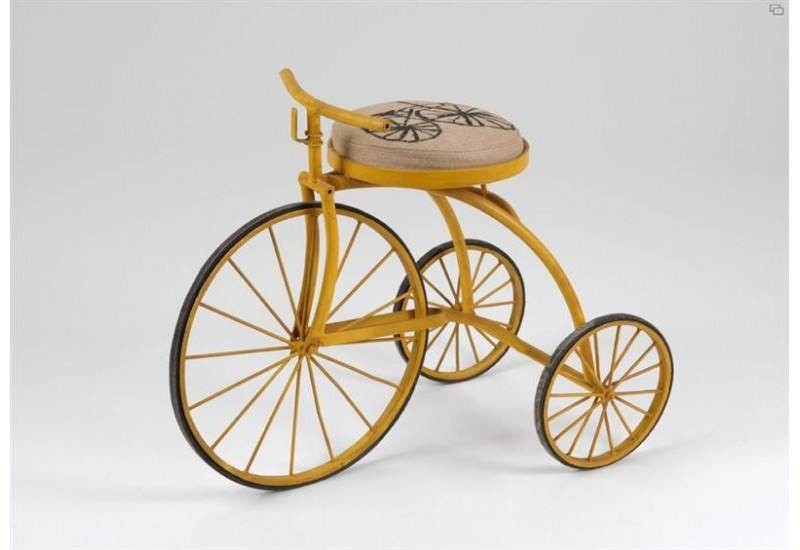 Pouf Bicycle