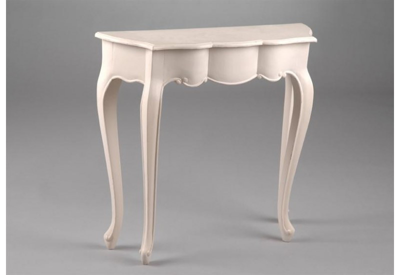 Console 1/2 Lune   Agapanthe