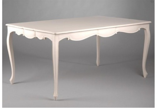 Table 160/200 Allonges Papillons Agapanthe AMADEUS
