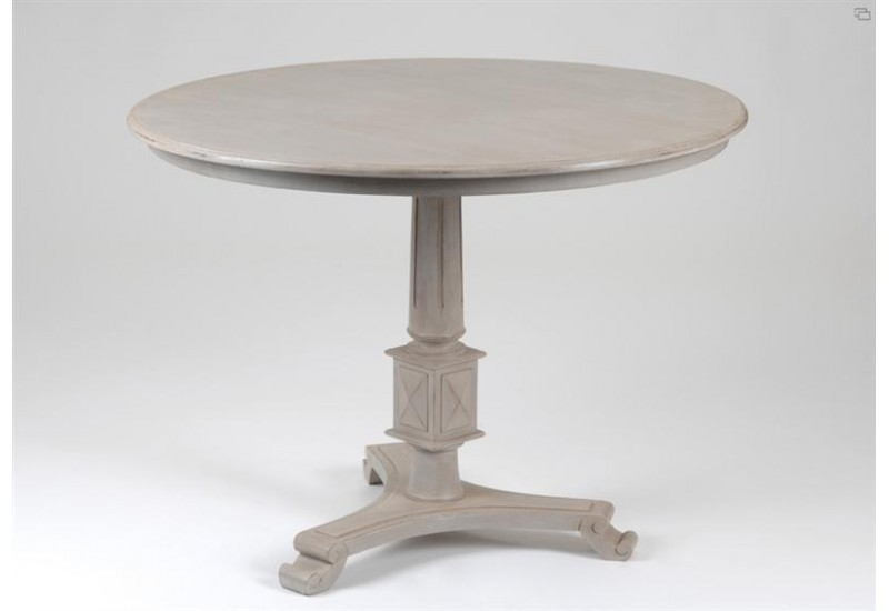 Table Pied Central Grégoire