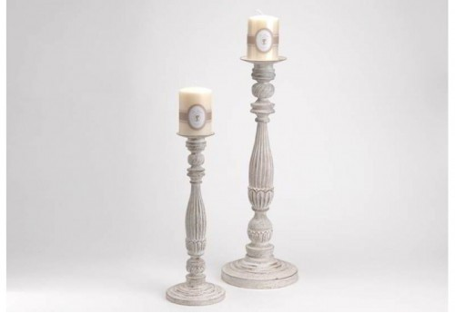 S2 Chandeliers Blc Antique Set AMADEUS