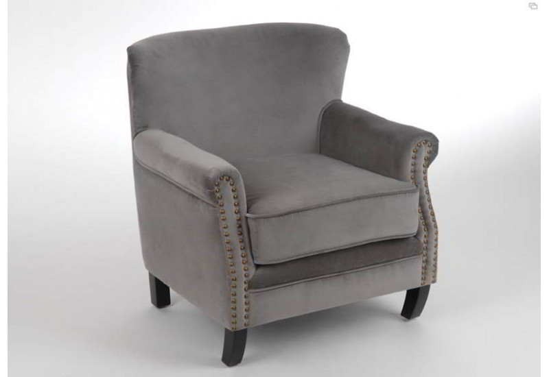 fauteuil casanova gris clair amadeus amadeus 8272. Black Bedroom Furniture Sets. Home Design Ideas