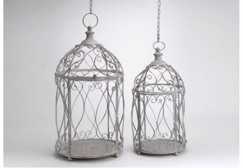 Set de 2 Suspensions Cages Amadeus
