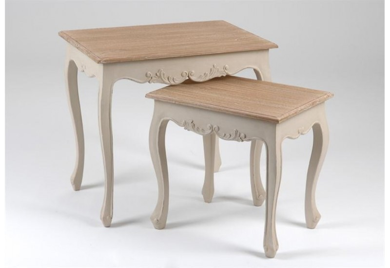 Set de 2 Tables Gigognes Jeanne