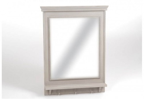 Miroir Rectangle Patère Paul 80X60  Amadeus
