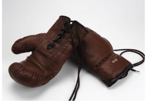 Lot de 2 Gants De Box Cuir Auguste AMADEUS