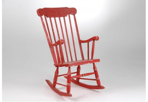 Rocking Chair Coquelicot Amadeus