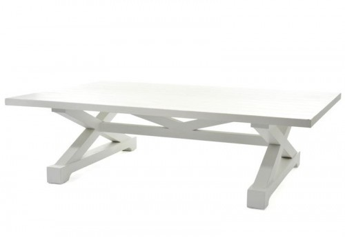 Table Salon Long Island Bois Blanc 150X100X42Cm J-line