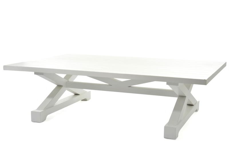 table salon long island bois blanc 150x100x42cm j-line j-line by jo