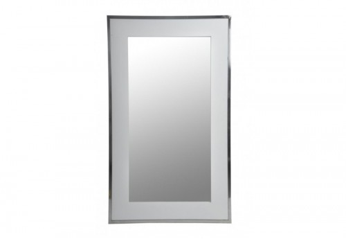 Miroir Rectangle Métal Argent 74X2X124Cm J-line