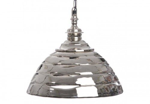 Suspension Strie Alu Argent 40X32Cm J-line