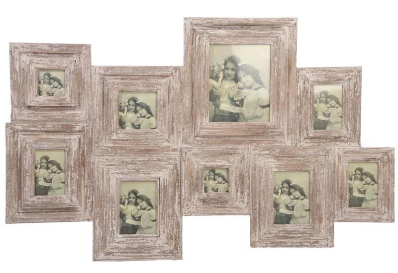 stunning cadre pele mele bois gallery. Black Bedroom Furniture Sets. Home Design Ideas