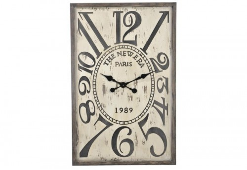 Horloge New Era Bs Beige/Marron L 60X5X93Cm J-line