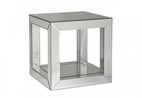 Table Carrée Miroir 41X41X41Cm J-line