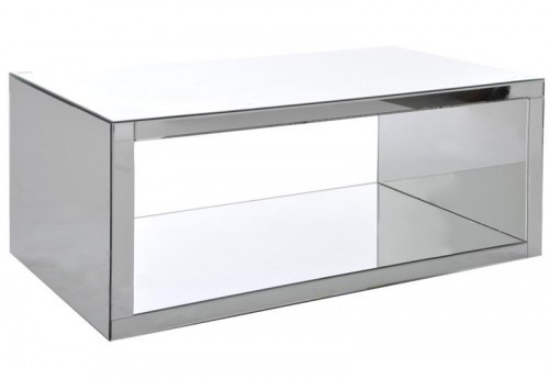 Table Salon Rectangle Miroir 110X60X45Cm J-line