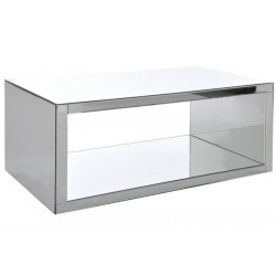 Table Salon Rectangle Miroir 110X60X45Cm